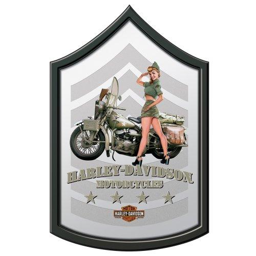 Harley-Davidson® Military Mirror - Army