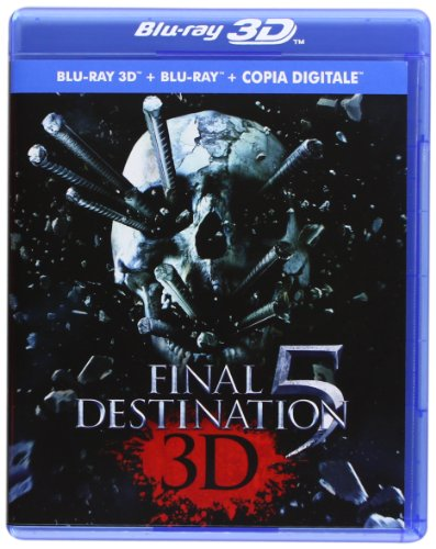 Final destination 5 (2D+3D) [Italia] [Blu-ray]