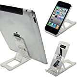 LUPO Universal Adjustable Folding Plastic Desk Stand for all iPads, iPhones, Tablets and Mobile Phones