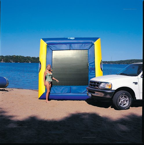 Rave Sports Aqua Deck Water Trampoline (11-Foot, Northwoods Edition)