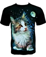 Rock Chang T-Shirt Sweet Cat Kitten Douce R 551