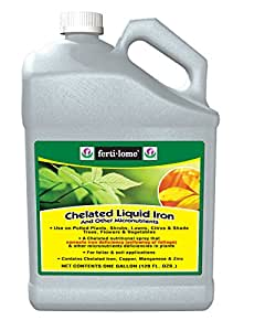 Ferti-lome 10635 Chelated Liquid Iron, 1-gallon