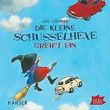 Die kleine Schusselhexe greift ein (Die kleine Schusselhexe 2) Hörbuch von Anu Stohner Gesprochen von: Friedhelm Ptok
