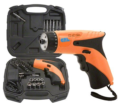 Crl 3.6 Volt Cordless Screwdriver Kit By Cr Laurence