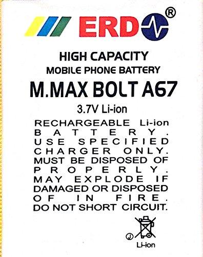 ERD 1250mAh Battery (For Micromax Bolt A67)