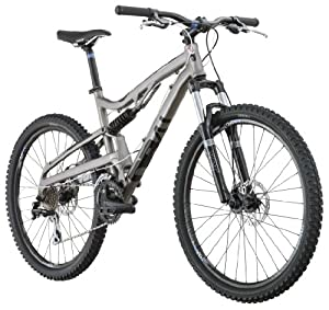 Diamondback 2012 Recoil Full Suspension Mountain Bike (Titanium, 18-Inch/ Medium)
