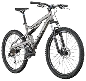 Diamondback 2012 Recoil Full Suspension Mountain Bike (Titanium, 16-Inch/ Small)