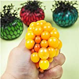 Giveme5 Funny Toy Antistress Face Reliever Grape Ball Autism Mood Squeeze Relief Healthy Toy Geek Gadget for Halloween Jokes 5cm