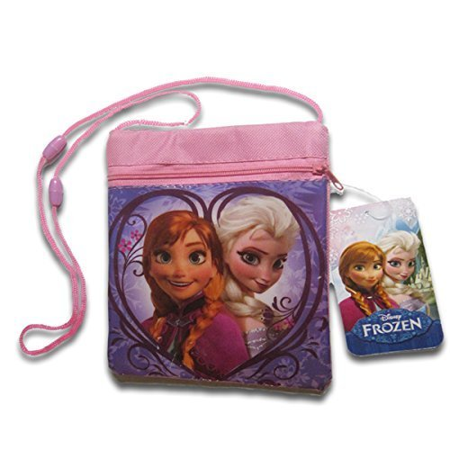 Disney Frozen Passport Bag with Elsa & Anna - 1
