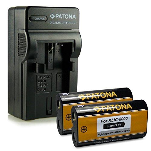 bundle-4in1-caricabatteria-2x-batteria-kodak-klic-8000-ricoh-db-50-per-kodak-easyshare-z612-z712is-z