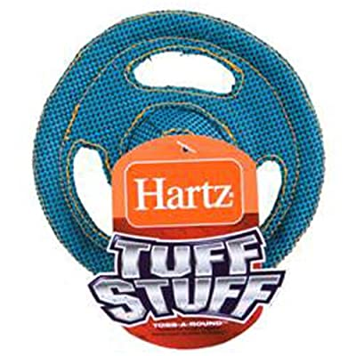 Hartz Tuff Stuff Flyer Dog Toy for Tiny Dogs, Colors May Vary