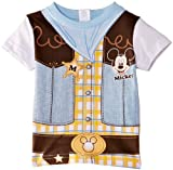 Disney Baby Boys Mickey Mouse EN0110 Short Sleeve T-Shirt