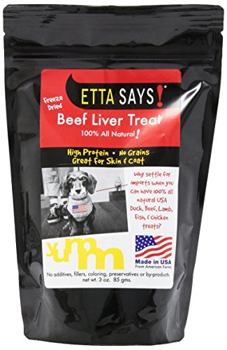 Etta Says! 3-Ounce Freeze-Dried Treats, Beef Liver