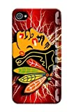 Cover For Iphone 4/4S Chicago Blackhawks Nhl Sparkle Personalised Phone Case