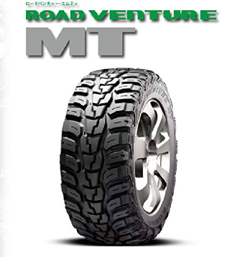 KUMHO(クムホ) ROAD VENTURE MT KL71 Black Sidewall 35X12.50R18LT 118Q