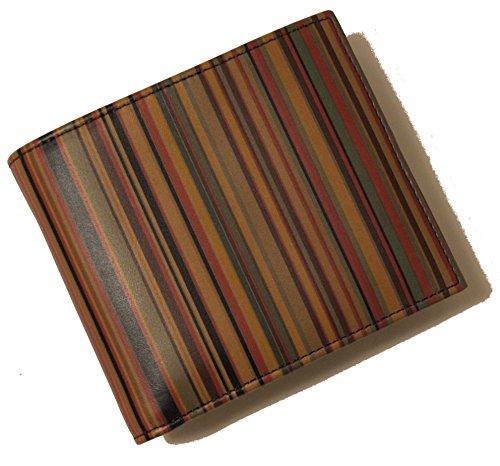 (ポールスミス)Paul Smith 二つ折財布(マルチストライプ) ALXA 1033 W217 PA-243