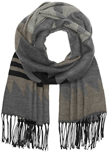 ONLY onlSHEENA WEAVED SCARF AC NOOS, Sciarpa Donna, Multicolore (Dark Grey Melange), Taglia unica