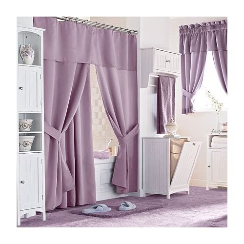 Home Design Elegant Shower Curtains