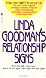 Linda Goodman's Relationship Signs (0553580159) by Linda Goodman