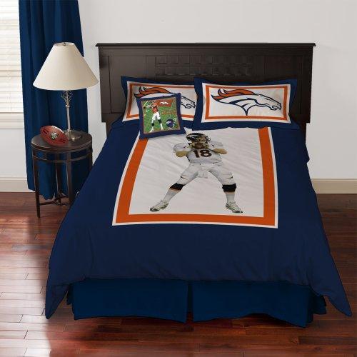Denver Broncos Bedroom Curtains » Nfl Denver Broncos Sheet Set Buy ...