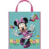 Unique Minnie Mouse Deluxe Favor Bag, 13 x 11