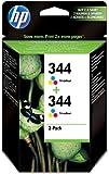 HP 344 - 2-pack - colour (cyan, magenta, yellow) - original - ink cartridge