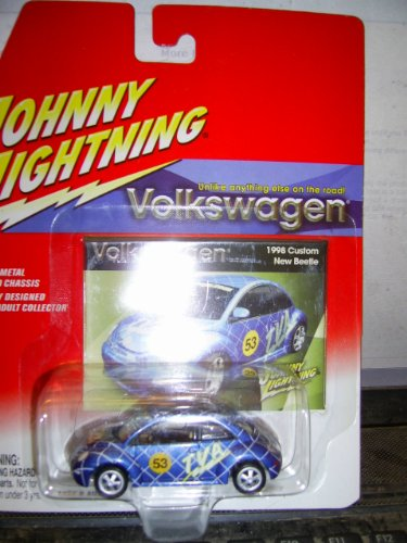 Johnny Lightning Volkswagen 1998 Custom New Beetle - 1