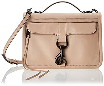 Rebecca Minkoff Bowery Cross-Body Bag,Latte,One Size