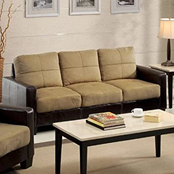 Townsend Sofa Color: Dark Taupe