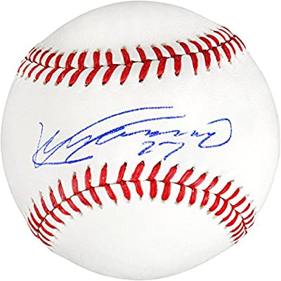 Vladimir Guerrero Los Angeles Angels of Anaheim Autographed Baseball - Fanatics Authentic Certified - Autographed Baseballs