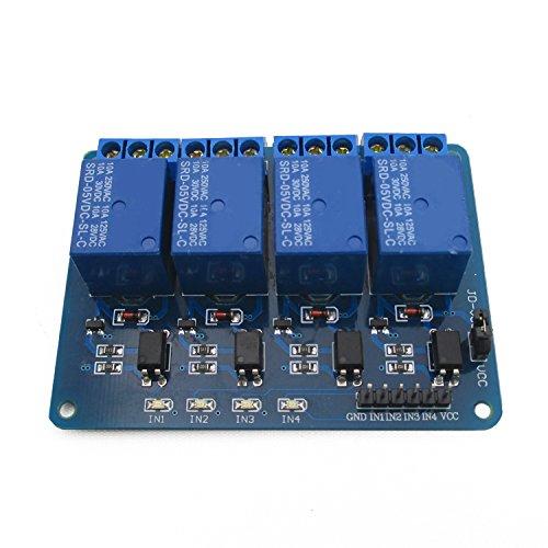 4-estensioni-di-rele-5v-con-optoaccoppiata-supporto-isolamento-avr-51-pic-singolo-chip-dc5v