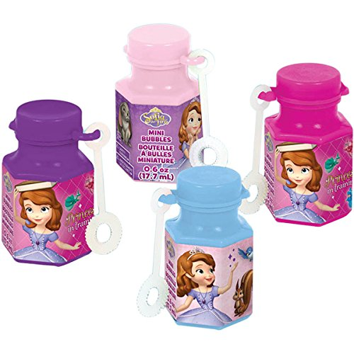 6-Piece Sofia The First Bubbles Pack - 1