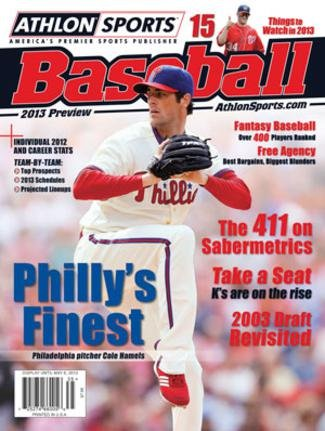 2013 Athlon Sports MLB Baseball Preview Magazine- Philadelphia Phillies Cover at Amazon.com