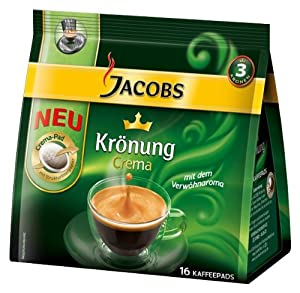 Buy Jacobs Krönung Crema Classic, 16 Coffee Pods - Kraft Foods