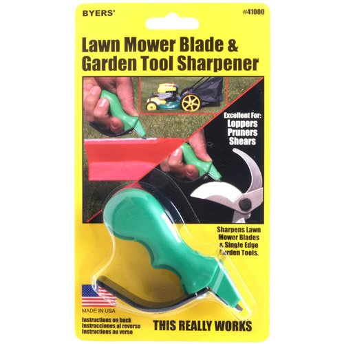 Lawn Mower Blade and Garden Tool Sharpener