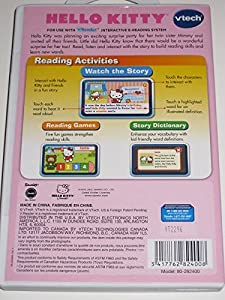 V.Reader Vtech Hello Kitty Interactive E-Reading System Hello Kitty's Surprise!
