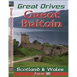 Great Drives: Great Britain-Scotland: The Highlands, Loch Ness Monster, Wales: Search for King Arthur & The Holy Grail