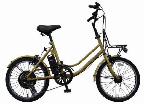 【2010年モデル】エアロアシスタント 20インチ小径電動自転車 「angee+N (アンジー+N)」 モカ (TB-206W-N) 新基準対応!