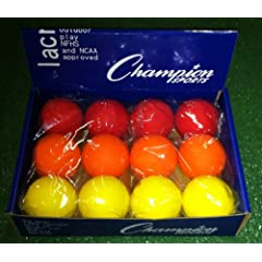 Sunset Blend - Assorted Color NCAA NFHS Lacrosse Balls by Champion