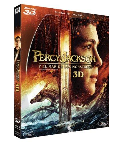Percy Jackson Y El Mar De Los Monstruos (BD 3D