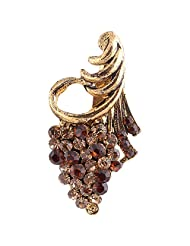 Chola Antique Gold Finish With Antique Gold Stones ( Golden )