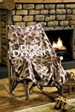 Duck Dynasty Fleece Logo Throw