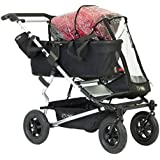 Mountain Buggy Storm RAINCOVER for Duet Double Baby Pushchair