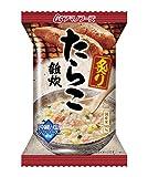 アマノフーズ フリーズドライ  炙りたらこ雑炊 6食 セット [ フリーズドライ ねぎ 5g付き ]