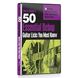 Sheryl Bailey - 50 Essential Bebop Licks You Must Know