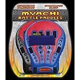 Guantes de batalla para juegos Myachi Battle Paddle - Color Azul y Rojo