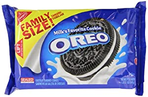 Oreo Family Size Oreo Cookies, 12 Count (Pack of 12)