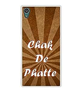 Chak De Phatte 2D Hard Polycarbonate Designer Back Case Cover for Sony Xperia Z5 :: Sony Xperia Z5 Dual