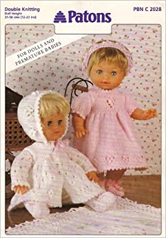 Patons Dolls Clothes Knitting Pattern: For Dolls and ...