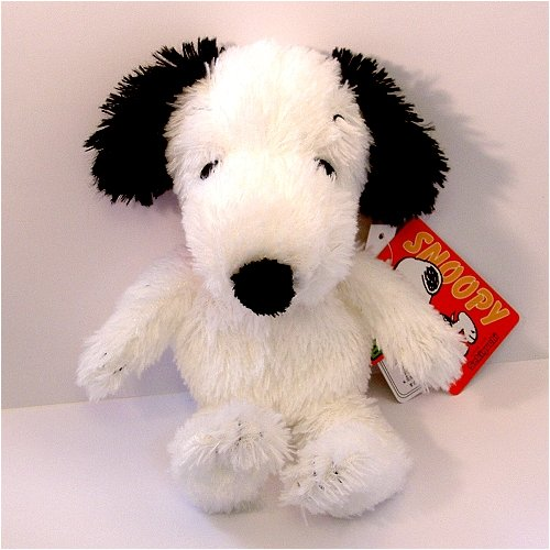 "7.5"" Long Snoopy Soft Plush Doll front-639003"